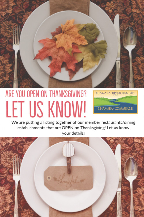 Thanksgiving Are You Open